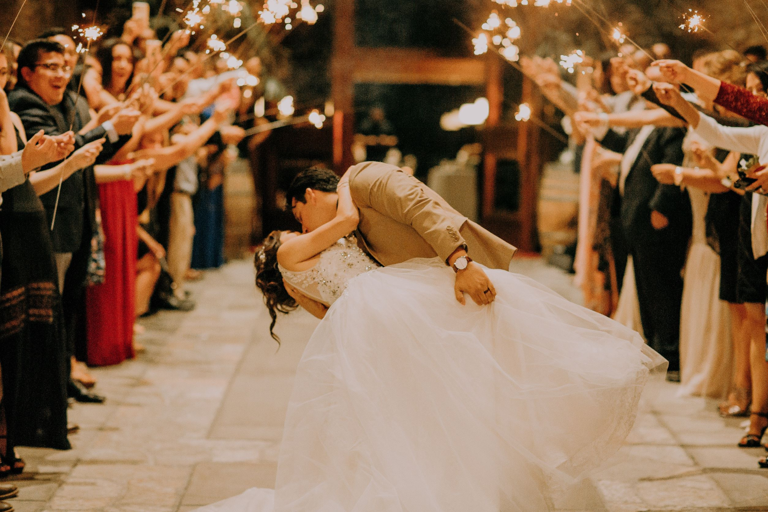 Dancing down the aisle